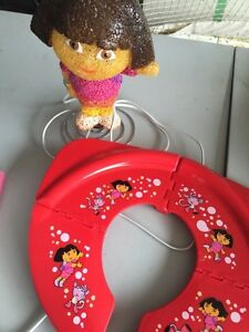Dora lamp and travelling potty training