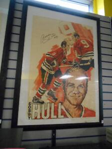 cadre collection bobby hull