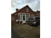 Detached Two bed Bungalow for sale North Cave potential three bed