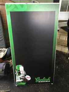 Grolsch Foldable Chalk Board Peterborough Peterborough Area image 1