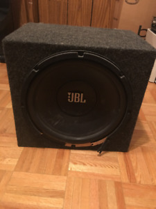 10 inch Subwoofer with case JBL