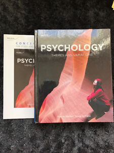 Psychology- Themes and Variations Cambridge Kitchener Area image 1