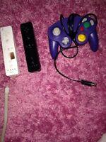 Nintendo Wii motes & GameCube controller