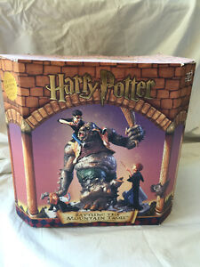 "Harry Potter ""Battling the Mountain Troll"" Collectors Piece"