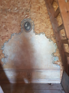 french provincal queen headboard