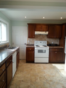 Fully renovated 3 bedroom main floor with walkout to backyard