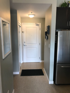 One bedroom plus den condo for rent - furnished
