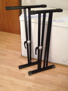 2 Profile X style Keyboard Stands