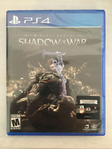 PS4 - Middle Earth: Shadow of War