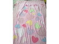 Toddler/baby girl bed set