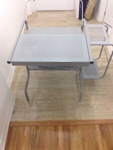 TABLES FOR SALE-- computer, wooden coffee tables