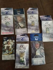 Collectors Canucks Retired Player's pins