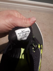 Nike indoor soccer shoes . Size 9.5