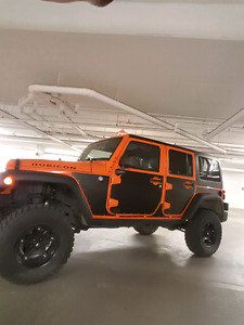 Lifted Jeep Wrangler Unlimited Rubicon