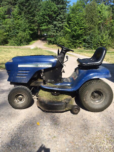 Tractor lawnmower 20hp Craftsman