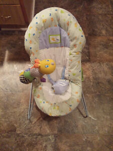 Safety 1st Bouncer Chair with toy- Washable,Harness $15