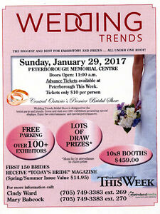 The Area's Largest Bridal Show Peterborough Peterborough Area image 1