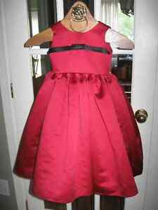 Flower Girl Dress~3 yr old~Wine Red w Crinoline~pick up Orleans