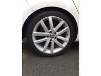 "Genuine VW Golf GTD Vancouver 18"" alloys - set of 4 Volkswagen wheels"