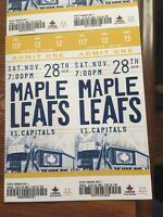 Pair of leafs tickets sat.nov.28, aisle golds