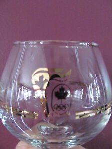 1988 Olympic glasses with 22k Yellow Gold Cornwall Ontario image 2