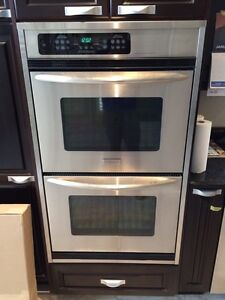 Frigidaire professional wall double oven