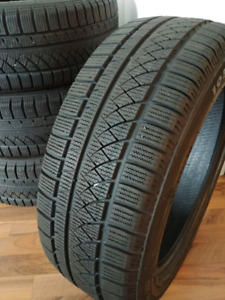 Winter tires 195 55 16 - very good condition