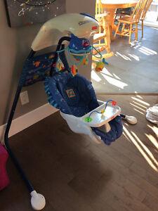 Balançoire pour bébé a batterie