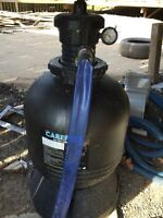 Pool accessories - pump, filter, cleaner, hoses, etc.