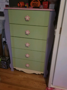 PRICE REDUCED- Children's desk and dresser