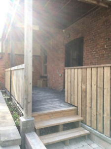 Apartment for rent on Locke Street - two bedroom!