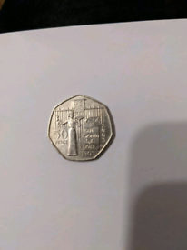 Suffragette 50p coin collectable