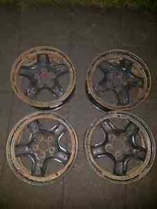 17 inch 5 bolt wheel rims with sensors