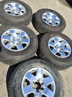 265/70/17 6x139.7 toyota truck rims&tires