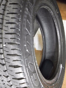 4 All Season Tires Goodyear Weatherhandler LS.. Size 175 65 14
