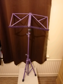 Folding Music Stand. Can deliver locally free of charge