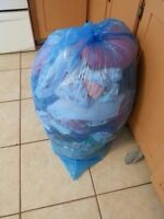 Full bag of girl clothes