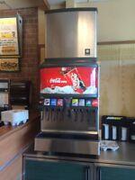 Coka cola  fountain drink dispenser