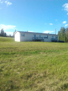 Mini Home on 7 acres of land--Rent with intent to buy
