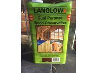 Langlow dual purpose wood preservative 5 Ltr