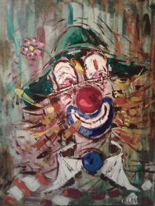 Clown au nez ( Rouge )