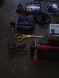 Job lot car boot items