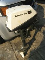 5 HP Johnson Outboard