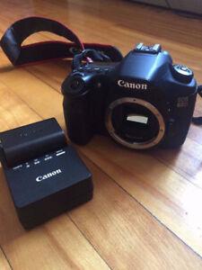 CANON 60D + Lentilles CANON 18-135mm f/3.5-5.6 + CANON 50mm fixe