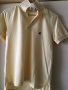 Brooks Brothers Polo Yellow Men's Small