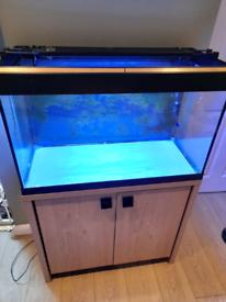 Fluval Roma 125 complete set up aquarium (marine, reef, tropical)