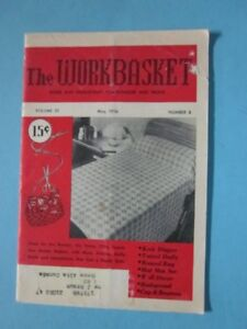 """VINTAGE ISSUES OF """"THE WORKBASKET"""""""