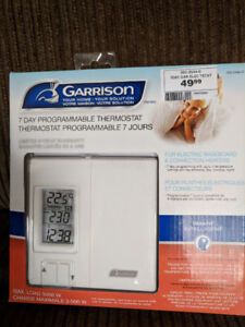 Programmable Electric Baseboard Thermostat