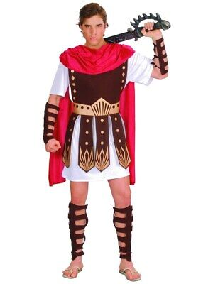 Adult Roman Gladiator Costume Mens Spartan Warrior Centurion - Spartan Outfits