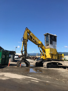 Excavator  SK 300 LL log loader        closing out the business